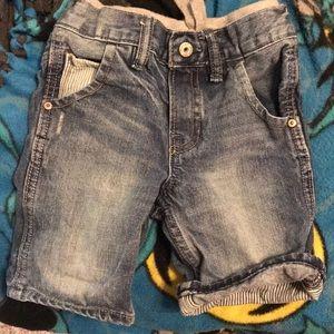 Gap kid jean shorts
